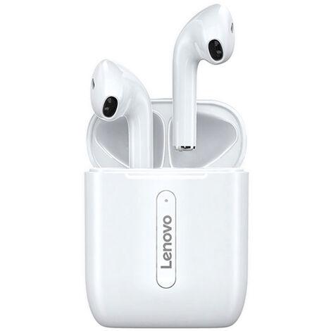 Lenovo X9 verdadera Wireless auriculares BT 5.0 auriculares estereo Auriculares TWS con microfono incorporado de alta definicion llamada 13mm dinamico Unidad de doble control aloja tactil a prueba de agua IPX4 Auriculares deportivos para los juegos de dep