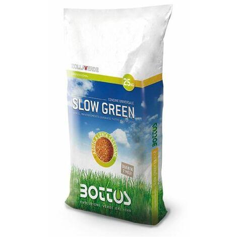 Lent Vert 22-5-10 + 2 MgO - Engrais pour la pelouse de 25 Kg