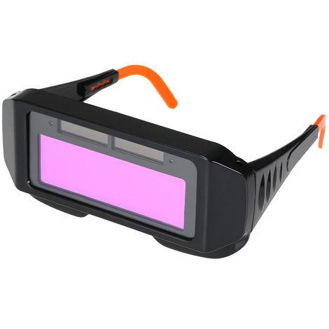 Lente de soldadura de atenuacion automatica, soldadura solar proteger los ojos