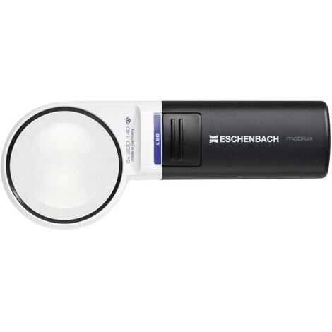 Lente dingrandimento portatile con illuminazione LED Ingrandimenti: 5 x Lente: (Ø) 58 mm Eschenbach 15115
