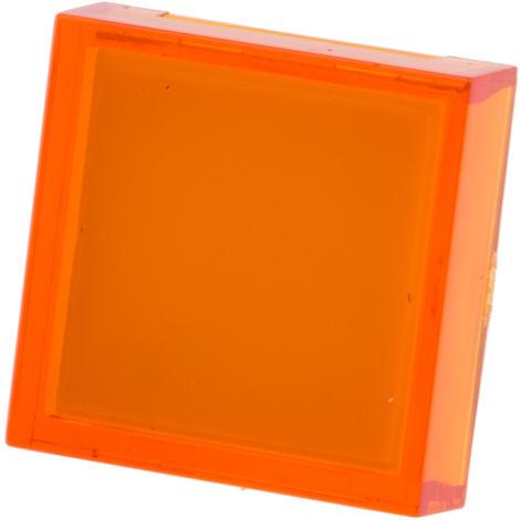 Lentille Orange de forme carrée pour Série ADA16