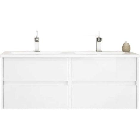 LERMA Mueble de baño Blanco 120 cm