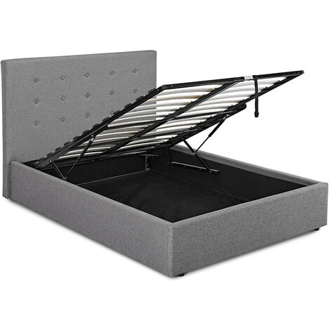 Lerny Plus 4.6 Double Bed Grey