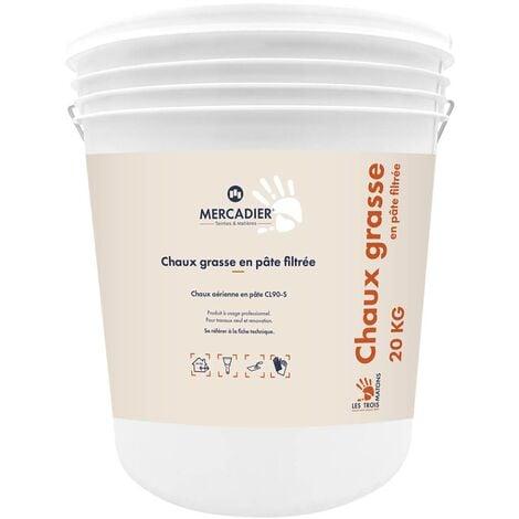 Les 3 Matons - Chaux Grasse Filtree - 20Kg