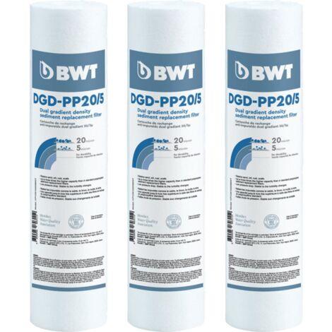 Les CARTOUCHES ANTI-IMPURETÉS DGD - BWT - Plusieurs modèles disponibles