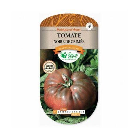 Les Doigts Verts - Graines Tomate Noire De Crimée - Les Doigts Verts