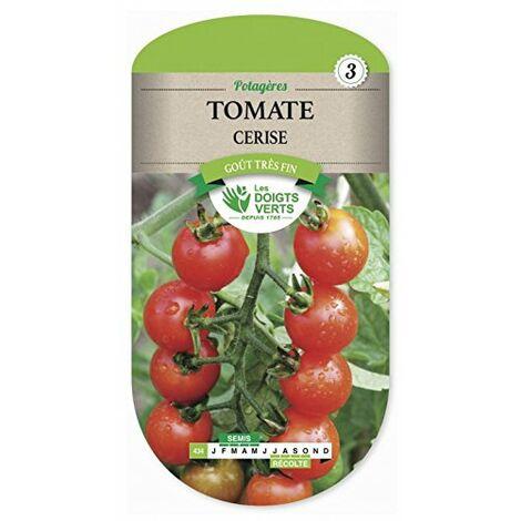 Les doigts verts Semence Tomate Cerise