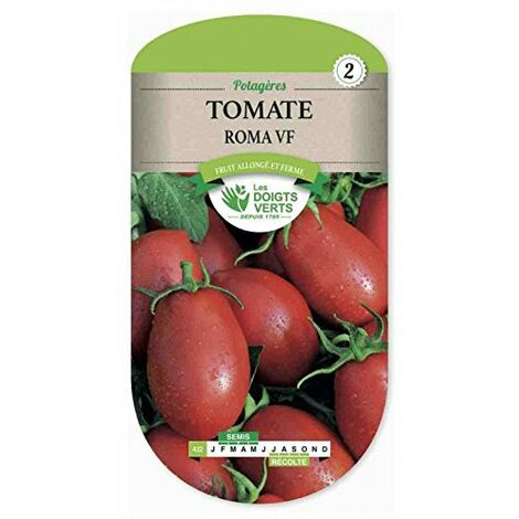 """main image of """"Les doigts verts Semence Tomate Roma"""""""