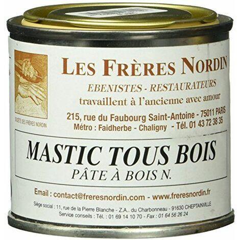 Les Frères Nordin 416115 Mastic à Bois Pro Blanc