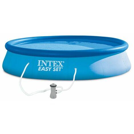 Les piscines autoportantes EASY SET - Intex - Plusieurs modèles disponibles