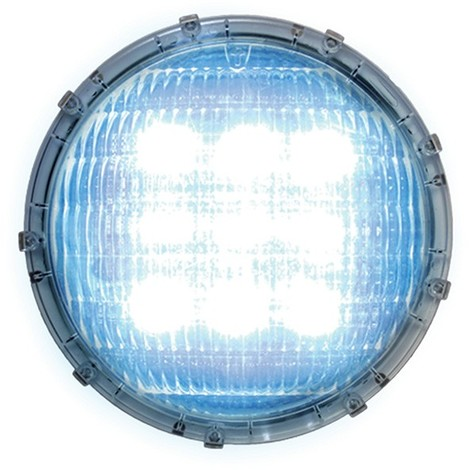 Powermaster Outdoor Mini Round cloison lumière IP44 en aluminium en noir