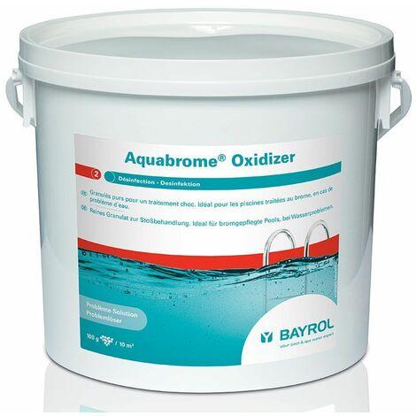 Les traitements AQUABROME OXIDIZER - Bayrol - Plusieurs modèles disponibles