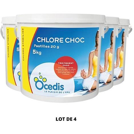 Les traitements CHLORE CHOC OCEDIS - Ocedis - Plusieurs modèles disponibles