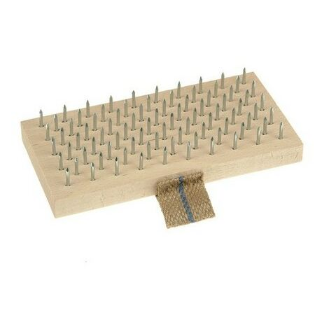 Lessmann 061.101.00 Plasterers Brush 190 x 95mm Steel Pins