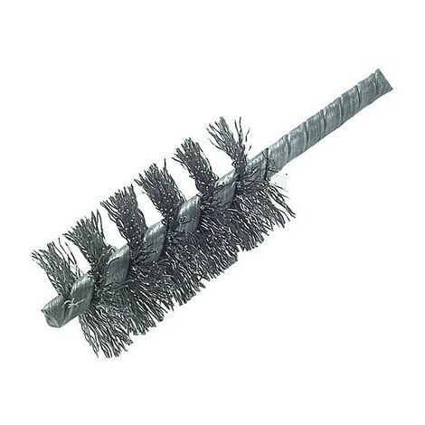 Lessmann 541.301.07 DIY Cylinder Brush 28mm 0.30 Steel Wire