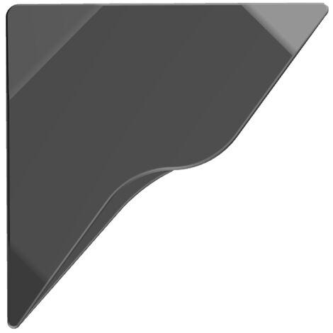 Lest beton modulable 12 kg pour mat deporte gris fonce