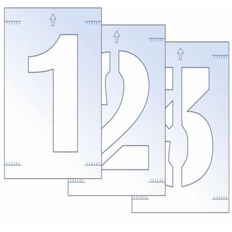 Letter & Number Stencil Kit
