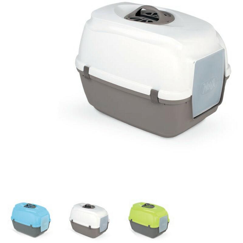 MPS Lettiera chiusa con filtro per gatti Nova toilette con filtro 56x40x40h