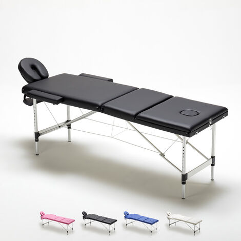 Lettino Massaggio Portatile In Alluminio.Lettino Da Massaggio 3 Zone In Alluminio Pieghevole Portatile Thai