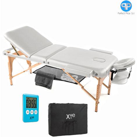 Lettino Massaggio Estetista.Lettino Da Massaggio Lettini Massaggi 3 Zone Legno Portatile
