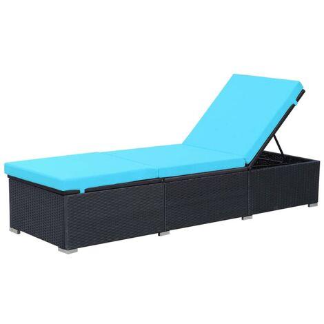 Cuscino super imbottito 6,5cm impermeabile sfoderabile sdraio lettino esterno