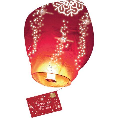 Lettre au Père Noël volante® - Rouge