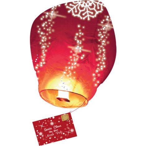 Lettre au Père Noël Volante® (Version Anglaise) - Rouge