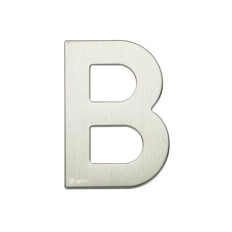Lettre de porte B en acier inoxydable avec adhésif GSC 003302621