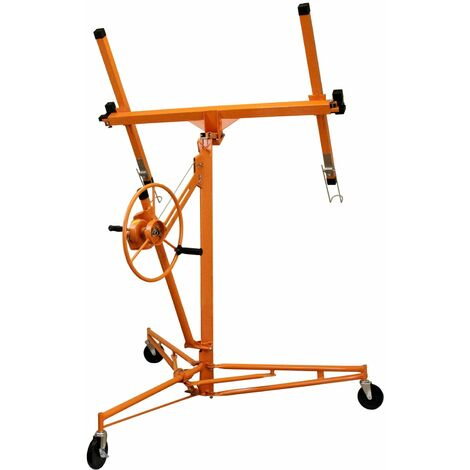 Lève-Plaques 3.5m Placoplâtre - Orange