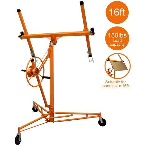 Lève-Plaques 5m Placoplâtre - Orange