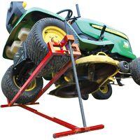 Lève tracteur Tondeuse télescopique - Gain de place 30% - Supporte 400 kg max