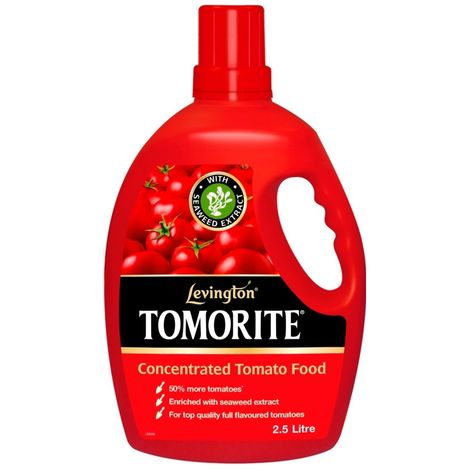 Levington Tomorite Liquid Tomato Feed Fertiliser Bottle - 2.5 L