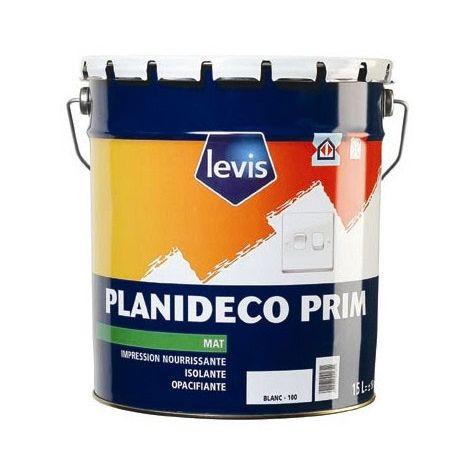Levis Peinture d'impression Planideco Prim blanc 15L