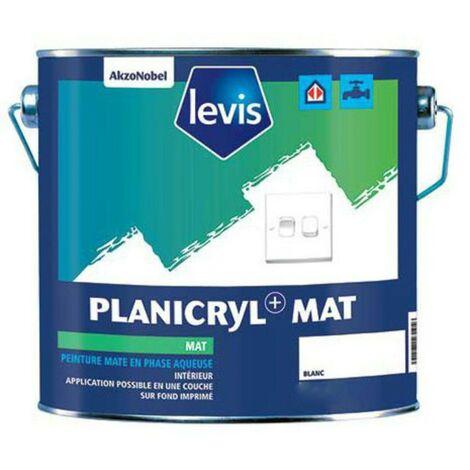 Levis Peinture Planicryl + Mat blanc