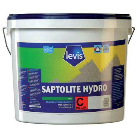 Levis Saptolite Hydro peinture respirante façades et extérieurs blanc