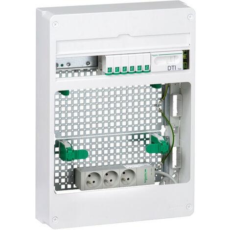 """main image of """"LexCom Home - coffret Grade 2TV Box Essential - 6xRJ45 cat 6 - Resi9 18M 3R (VDIR390042)"""""""