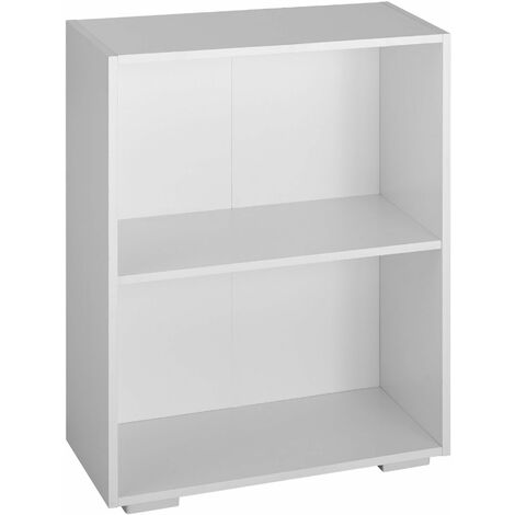 Lexi Bookcase with 2 Shelves