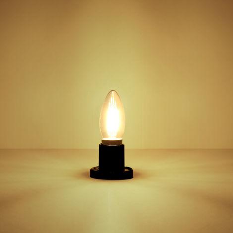 Lexman Ampoule 2700kLot Led Flamme Filament 5wéquiv 40wE14 3R45AjL