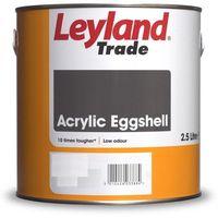 Leyland Acrylic Eggshell Brilliant White