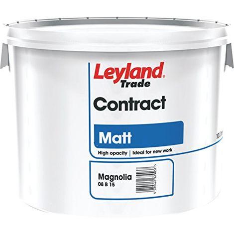 Leyland Trade Contract Matt - Magnolia - 10 Litres