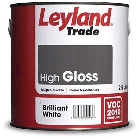 Leyland Trade Gloss Brilliant White