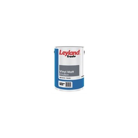 Leyland Trade Vinyl Matt Magnolia - 5 Litres