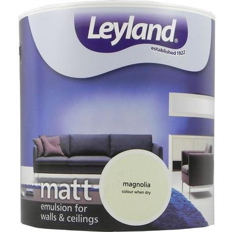 Leyland Vinyl Matt Emulsion Magnolia 2.5 Litre
