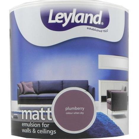 Leyland Vinyl Matt Emulsion Plumberry 2.5 Litre