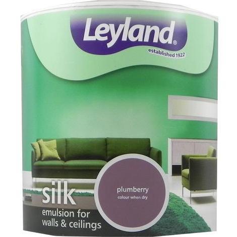 Leyland Vinyl Silk Emulsion Plumberry 2.5 Litre