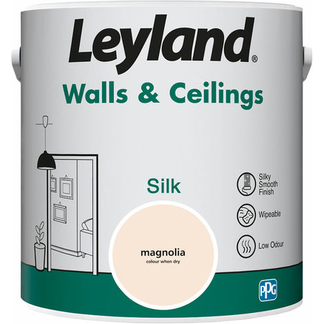 Leyland Walls & Ceilings Silk Magnolia 2.5L