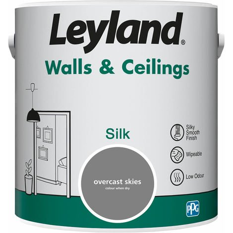 Leyland Walls & Ceilings Silk Overcast Skies 2.5L