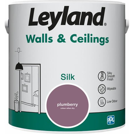 Leyland Walls & Ceilings Silk Plumberry 2.5L
