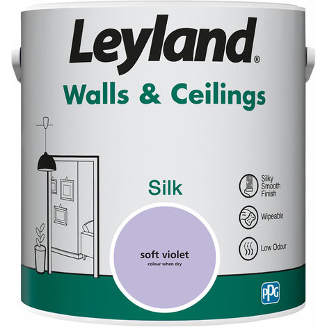 Leyland Walls & Ceilings Silk Soft Violet 2.5L