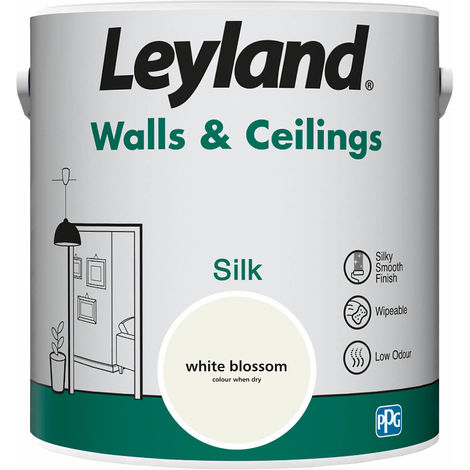 Leyland Walls & Ceilings Silk White Blossom 2.5L